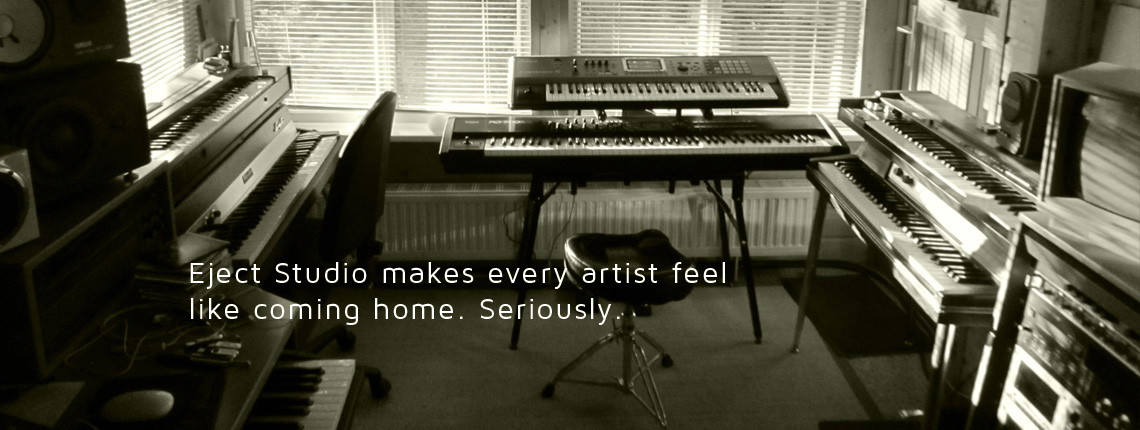 Eject Studio makes every artist feel like coming home